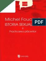 Michel Foucault Istoria Sexualitatii Vol. 2 OCR