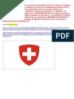 18-07-2016-ASSASSINAT SUISSE-Compte à rebours-Si Je Meurs de quelque façon, les 18-19 Juillet, 2016, Blâmer le Service de Renseignement Fédéral Suisse-(FIS)