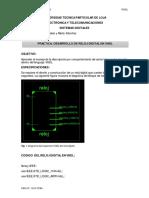 Reloj digital en VHDL