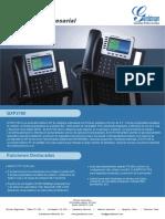 2.0.TELEFONO - Gxp2160 Datasheet Spanish