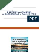 5.0 Geotecnia en Carreteras y Pavimentos 2017-1
