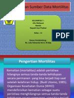 Mortalitas Dan Sumber Data Mortalitas