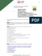 Lei Ordinaria 7647 1999 Belo Horizonte MG Consolidada [02!09!2013]