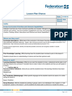 lesson plan - chance group rotations