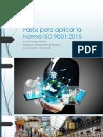 Pasos Para Aplicar La Norma ISO 9001