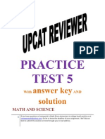 30568869 UPCAT Reviewer Practice Test 5