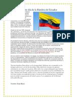 26 de Septiembre Día de La Bandera de Ecuador
