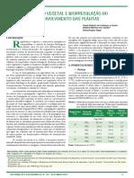 Nutricao Vegetal e Biorregulaçao No Desenvolvimento Das Plantas