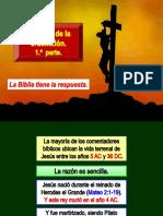 1. La Fecha de La Crucifixión, 1 Parte