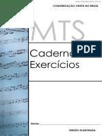 Caderno de Exercicios de Musical