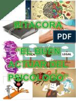 Bitácora, deontología.
