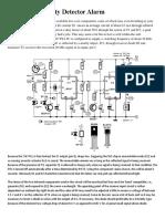 Infrared Proximity Detector Alarm2