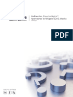 Radware Approaches to Mitigate Ddos Attacks Wp