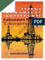 Indeks Kemahalan Konstruksi Kabupaten Natuna 2014