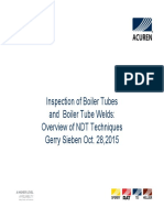 Acuren Boiler Tube Inspection Oct 28 2015