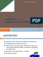 Unidad 13-Adsorción e Intercambio Iónico