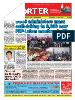 Bikol Reporter October 22 - 28, 2017 Issue