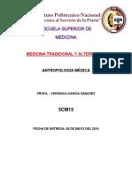 Medicina Tradicional y Alternativa-Antropología ESM