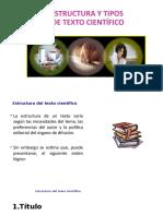 2. Estructura y Tipos de texto científico.pptx
