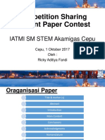 Paper Contest Sharing