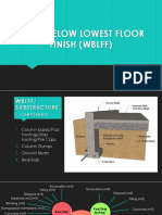Work Below Lowest Floor Finish (Wblff)
