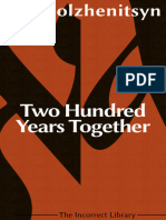 Two Hundred Years Together on Russian-Jewish Relations 1795-1995