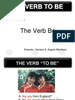 Verb Be - Horacio Angulo