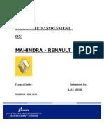 Mahindra renault.k