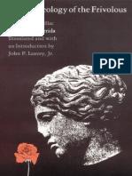 Derrida, J - Archeology of the Frivolous (Duquesne, 1980).pdf
