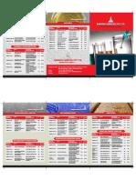 Change Font Brochure Design
