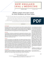 Rhythm Control Versus Rate Control for Atrial Fibrillation and Heart Failure