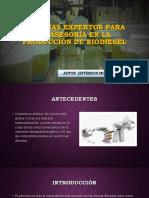 Sistema Experto de Aseria para la Producción de Bioesel