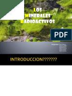 Los Minerales Radiactivos