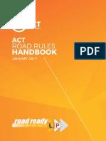 ACT Road Rules Handbook
