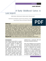 6. Treatment of Early Childhood Caries a Case Report 2 1