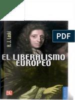 El Liberalismo Europeo - Harold Laski.pdf