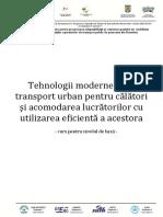 Curs 5 Tehnologii Moderne Pentru Transport Urban