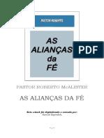 As alianças da fé - Roberto McAlister Pr..doc