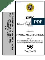 Pra Ujian Nasional Bahasa Inggris Smk Kode b (56)
