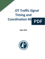 2013 Signal Opt and Timing Manual