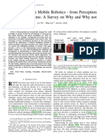 Deep Learning in Mobile Robotics Paper