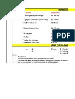 Pipe Sizing Formula & Velocity Reference