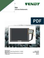 X990.006.934.000 4894-De Externes Bedienteil Im Terminal NT01 Tauschen 1 AGCO PDF A4 de-De 117253