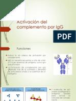 Activación Del Complemento Por IgG