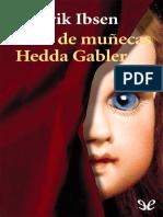 Ibsen, Henrik - Casa de Munecas & Hedda Gabler [7608] (r1.2)