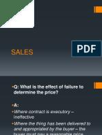 Sales Part 2