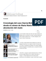Cronología Del Caso García Belsunce Desde El Crimen de María Marta Hasta La Absolución Del Viudo - MisionesOnline