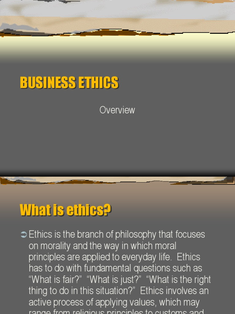 Business Ethics Good 1 Ppt | Capital Punishment | Business