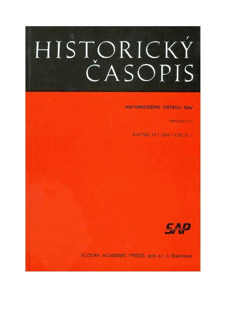 Historicky Casopis 1 2006 c919af95e1e