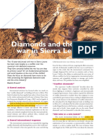 Diamonds - CW in Sierra Leone